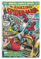 Amazing Spider-Man # 125 Marvel Comics 1973 Origin & 2nd Appearance of Man-Wolf
