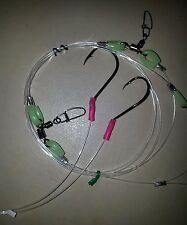 1 LUMO FISHING RIGS 100LB ULTIMATE II SWAP DROPPERS 6/0 BEAK & 7/0 CIRCLE HOOKS