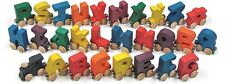 Maple Landmark 28pc Wooden Name Train Fit Thomas Brio..MADE IN THE USA