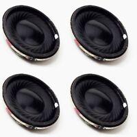 4x 23mm 8 Ohm Round Speaker For DCC Sound Decoder, Loksound, Zimo, Hornby TTS