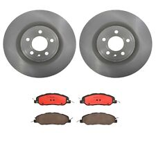 Front Brembo Brake Kit Disc Rotors & Ceramic Pads For Ford Mustang GT 2011-2014