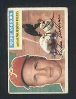 1956 Topps #120 Richie Ashburn GVG Phillies Grey Backs 126129