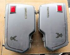 HONDA GL500 SILVERWING SADDLEBAGS 81 82 OEM GL500 INTERSTATE Luggage PAIR L&R