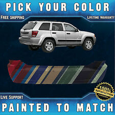 New Painted to Match- Rear Bumper For 2005-2010 Jeep Grand Cherokee Laredo 05-10
