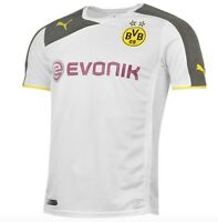 Puma hacia Fuera Fuera 3º Camiseta 2015 Bvb Borussia Dortmund Amarillo Blanco