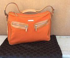 Gucci Vintage Messenger Orange Bag  RARE!!!