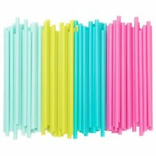 Plastic Straws Party Tableware 51-100