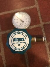 AIRGAS Y11-241A REL REGULATOR MAX INLET 1200 PSI