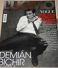 L'UOMO VOGUE MAGAZINE=2012/428=DEMIAN BICHIR=THE 84th ACADEMY AWARDS ISSUE=