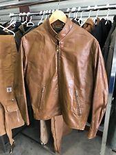 New listing Mens M/L - Vtg 70s Cafe Racer Motorycle Biker 2-Pocket Distressed Leather Jacket