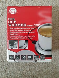 USB warmer and cup brand new boxed by dream cheeky