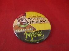 Tales of Monkey Island Voodoo Lady Employee Promotional Button Pin Promo Pinback