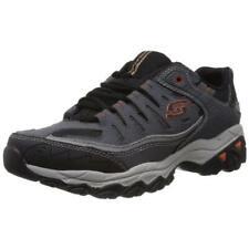 Skechers Mens After Burn Gray Casual Shoes Sneakers 12 Medium (D) BHFO 8550