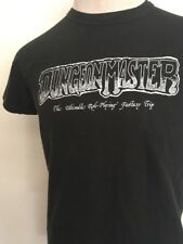 DUNGEON MASTER STAGE FATHER TEE ~ Black ~ M/L~Fantasy VTG 80s ~ RUSSELL ATHLETIC