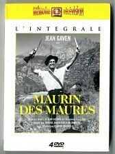 COFFRET 4 DVD ★ SERIE TV INTEGRALE - MAURIN DES MAURES ★ JEAN GAVEN