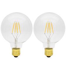 2X 4W Dimmbar E27 Edison Lampe Vintage LED Filament Glühbirne Glühfaden 2200K
