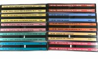 Classical Music CD Collection of 21 Discs 10 Cases VoxBox