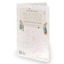 50p Beatrix Potter Folder Collector Album Coin 2017
