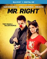 Mr. Right [New Blu-ray] UV/HD Digital Copy, Digitally Mastered In Hd, Digital