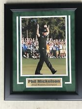 Phil Michelson PGA Professional Golfer Signed Framed 8x10 Photo