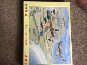 Sealed 1000 Piece Jigsaw - Lest We Forget - House Of Puzzles