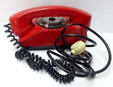 66738 Telefono fisso a disco vintage - TS SAFNAT Mod. CHICCO - Design Nizzoli