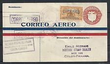 Panama covers 1929 1st Flightcover COLON to Curacao