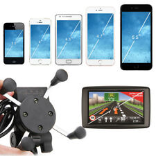 360° universal porta cellulare supporto GPS USB caricabatterie per moto manubrio