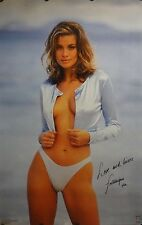 Frederique van der Wal 23x35 90's Pin Up Girl Poster 1995