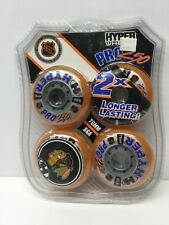 Hyper Wheels Pro 250 Outdoor Hockey 76mm 86a 4-pack NHL Licensed