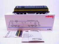 70692 Märklin H0 3467 Locomotive Diesel Série 55 la Sncb Numérique IN Ovp