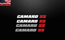 (2) Decal Stickers For Camaro SS Fits Chevy Chevrolet Z28 super sport