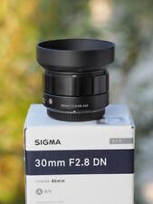 Sigma DN 30 mm f/2.8 für MFT -Top