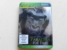 Tierfilm Dokumentation Doku Wildtiere Natur Film Wildnis Metallbox  DVD Neu OVP