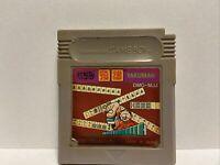 Yakuman (Nintendo Game Boy, 1989), Japanese Import - DMG-MJJ US SELLER