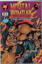 MORTAL KOMBAT BLOOD & THUNDER #2 (VF/NM) MALIBU COMICS
