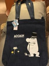 New and Genuine official Moomin Handbag / Tote / Shopping Bag Tove Jansson