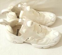 Reebok Instapump White Trainer Size Uk 3