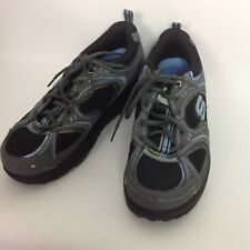 Vtg Skechers Shape Ups Sneakers 8 Gray Blue Womens Athletic Exercise Shoes 90s