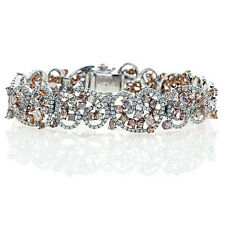 Pink Diamanten - Armband 15.5ct Natürlich Schicke Rosa