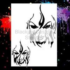 Torch Woman Airbrush Stencil,Template
