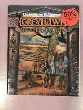 TSR 9578 Dungeons & Dragons Greyhawk Player's Guide ***NEW SEALED***