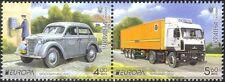 Ucrania 2013 Europa/coche/camión de transporte postal// Camión/motores/Motoring pr (n43993)
