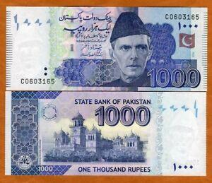 Pakistan, 1000 Rupees, 2006, P-50a, UNC