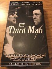 The Third Man (Vhs, 1949) Joseph Cotten, Orson Welles *B&W Film Noir* Vg+