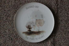 Precious Moments Enesco 1978 Blessed Are The Pure In Heart Plate