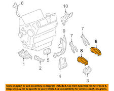 GM OEM Engine Motor Transmission-Strut Mount 10345904