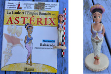 Rahazade, figurine en résine collection Astérix, éditions Albert René 2000
