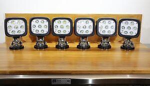 Vision-X 21w 12v 24v DC LED Marine 10 Degree Spot Light Magnetic Base + Handle