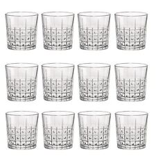 Cut Glass Tumblers Barware Drinking Glasses, 300ml - Este Vintage - x12